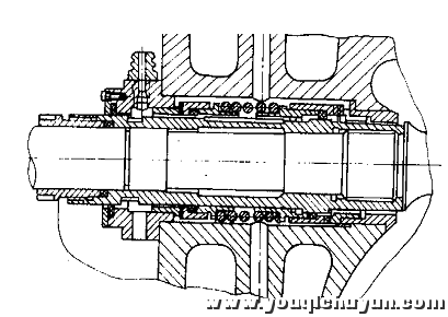 常采用双端面机械密封结构